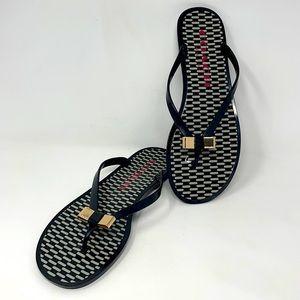 Coach Landon Jelly Flip Flop Sandals 9